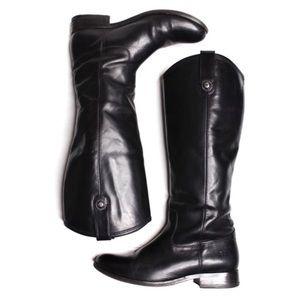 FRYE Melissa Button 2 Wide Calf Tall Boots Size 7B